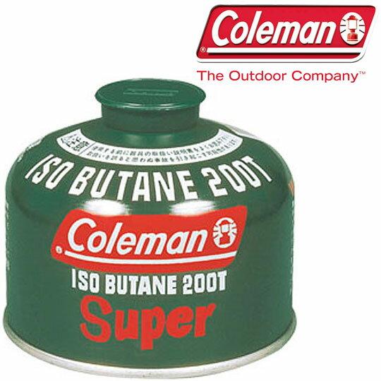 コールマン ガス 5103A200T 純正イソブタンガス燃料Tタイプ(230g) ガス 燃料