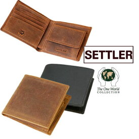 セトラー OW1563 ウォレットコイン WALLET/COIN 2つ折り財布 ワンワールド カウハイド 本革 カードケース 小銭入れ ホワイトハウスコックス