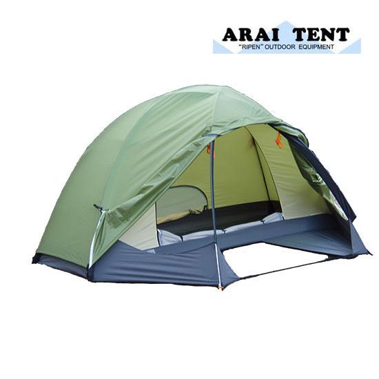 アライテント ARI023 (フォレストグリーン) ドマドームライト (2) ドマドームライト2 2人 ドマドームライト2 山岳テント ツーリングテント 山用テント ライペンテント RIPENテント