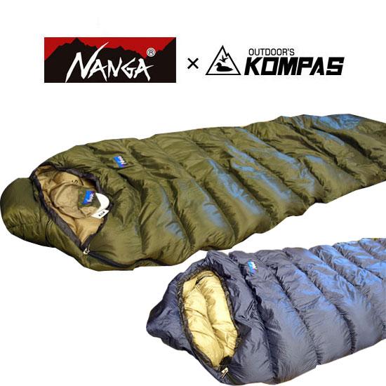 ナンガ NANGA×KOMPASオリジナルシュラフ300DX NANGAKOMPAS029