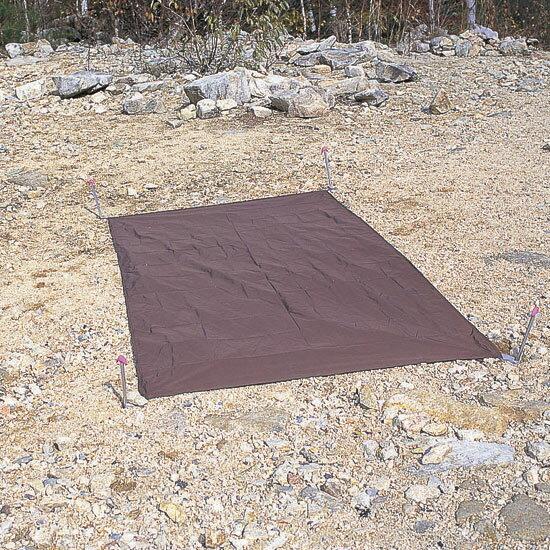 アライテント ARI013 (チョコレートブラウン) アンダーシート (1) (100×205cm・エアライズ/ゴアライズ用) グランドシート 山用テント ライペンテント RIPENテント 【ゆうパケットOK】