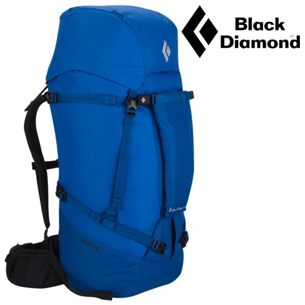 ブラックダイヤモンド ザック BD54035(コバルト)ミッション75 MISSION 75 PACK 大型バックパック トレッキングザック トレッキングパック 登山用リュックサック ロストアロー正規取引店
