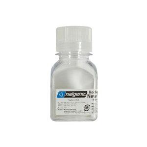 ナルゲン 91105 細口角透明ボトル(125ml) パッキング 液体調味料用 シャンプー用 ボディソープ用 アウトドア/旅行用 トラベル/バックパック用