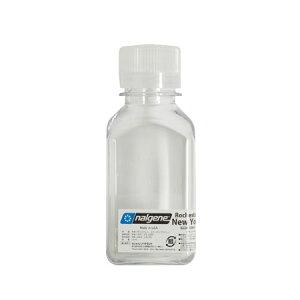 ナルゲン 91109 細口角透明ボトル(250ml) パッキング 液体調味料用 シャンプー用 ボディソープ用 アウトドア/旅行用 トラベル/バックパック用