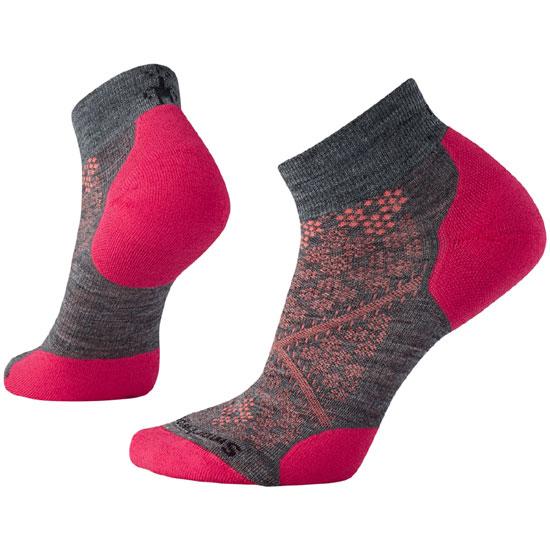 スマートウール W's PhDランライトエリートローカット SW70509 レディース/女性用 Women's PhD Run Light Elite Low Cut Socks ミディアムグレー 【ゆうパケットOK】