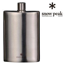 [キャッシュレス5%還元対象]スノーピーク スノーピークチタンスキットルM snowpeak T-012 フラスコ Titanium Flask M
