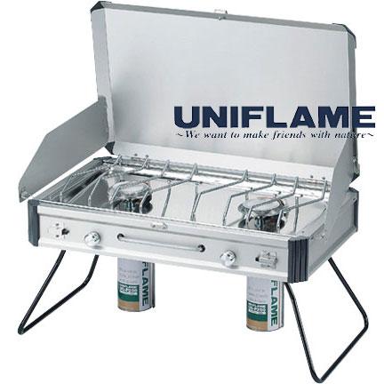 ユニフレーム UNIFRAME バーナー 610305 ツインバーナー(US-1900)【キャンプストーブ】【ストーブ/コンロ】【バーベキュー】【US1900】