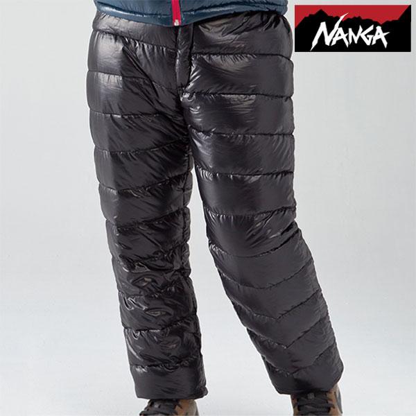 ナンガ ダウンパンツ メンズ/男性用 NANGA009 ポータブルダウンパンツ ロングパンツ 860フィルパワー 860FP SPDX 防寒着 2017年秋冬新作