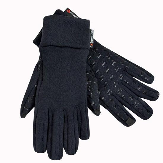 テラノバ スティッキーパワーストレッチグローブ 21SPS ユニセックス/男女兼用 手袋 Sticky Power Stretch Glove BKブラック