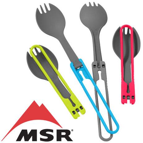 MSR スポーク MSRspork スポーク SPORK FOLDING UTENSILS カトラリー アウトドア用/キャンプ用 バーベキュー用/BBQ用 お弁当用/ランチ用