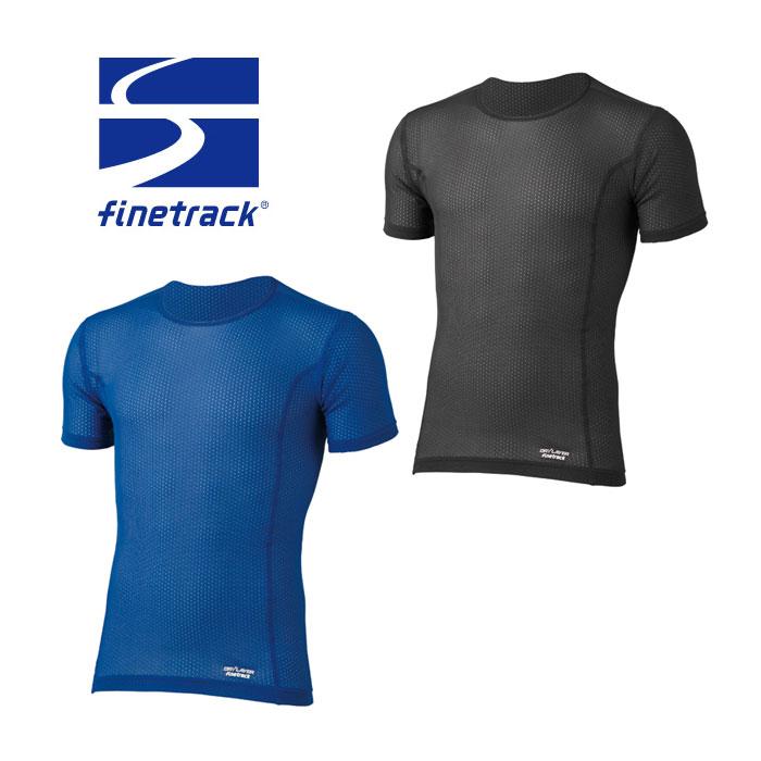 ファイントラック アンダーウェア メンズ/男性用 FUM0412 スキンメッシュT 半袖Tシャツ ドライレイヤー トレッキング