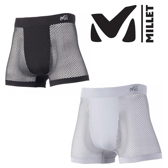 ミレー ベースレイヤー メンズ/男性用 MIV01250 ドライナミック メッシュ ボクサー DRYNAMIC MESH BOXER アンダーウェア ドライレイヤー