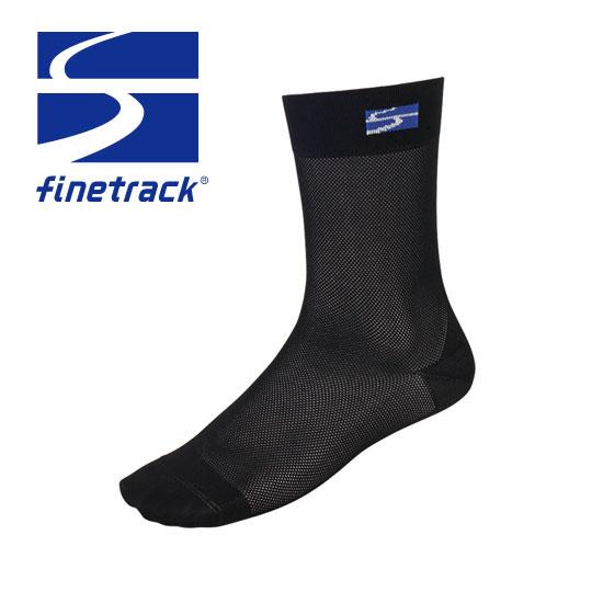 ファイントラック 靴下 FSU0211(BKブラック)スキンメッシュ ソックスレギュラー ソックス メンズ/男性用 レディース/女性用 ユニセックス/男女兼用
