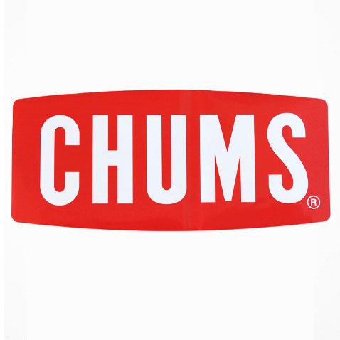 チャムス ステッカー CH62-1058 ステッカーチャムスロゴ ラージ Sticker CHUMS Logo Large シール ロゴステッカー