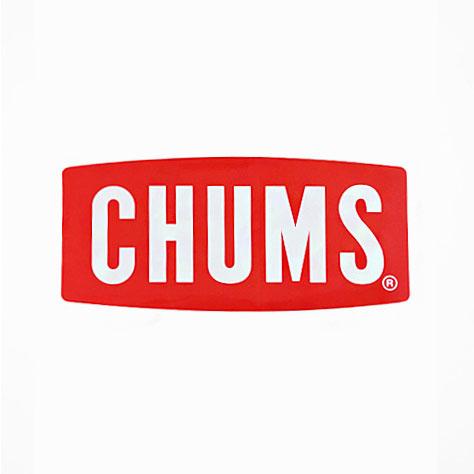 チャムス ステッカー CH62-1071 ステッカーチャムスロゴ ミディアム Sticker CHUMS Logo Medium シール ロゴステッカー