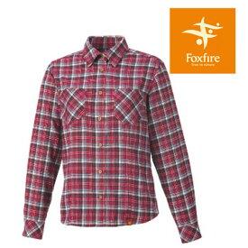 [キャッシュレス5%還元対象]フォックスファイヤー シャツ レディース/女性用 FXF8112505 トランスウェットローモンドチェックシャツ 長袖シャツ 吸汗速乾 山シャツ チェックシャツ