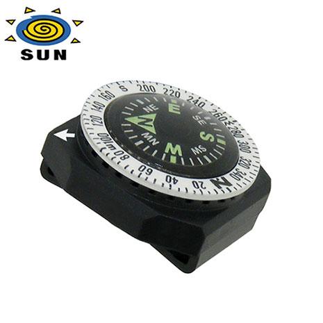 サンカンパニー コンパス 11500031 ゴーコンパス 方位磁石 腕時計に取付可能 コンパス
