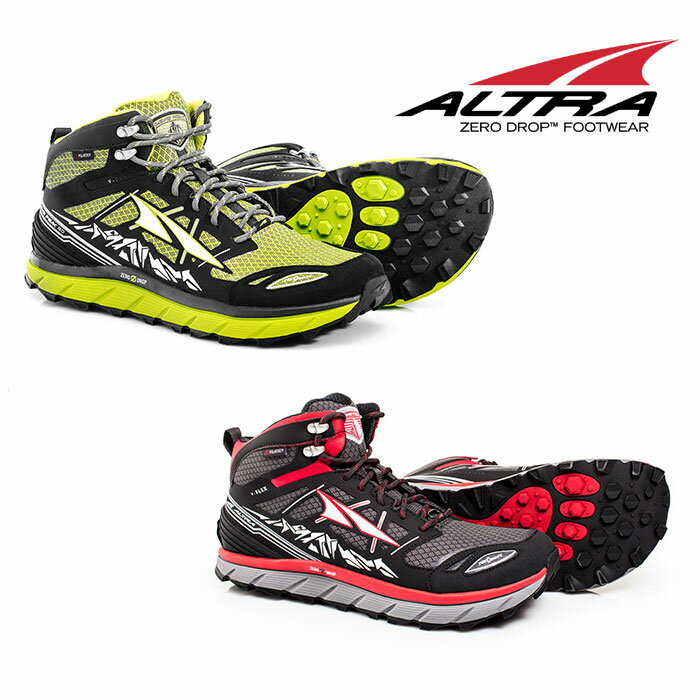 アルトラ 靴 altraA1653MID ローンピーク3.0ネオシェルミッド-M Lone Peak 3.0 NeoShell Mid M ミッドカット ランニングシューズ トレイルランニング メンズ/男性用 ネオシェル ファストパッキング ハイキング