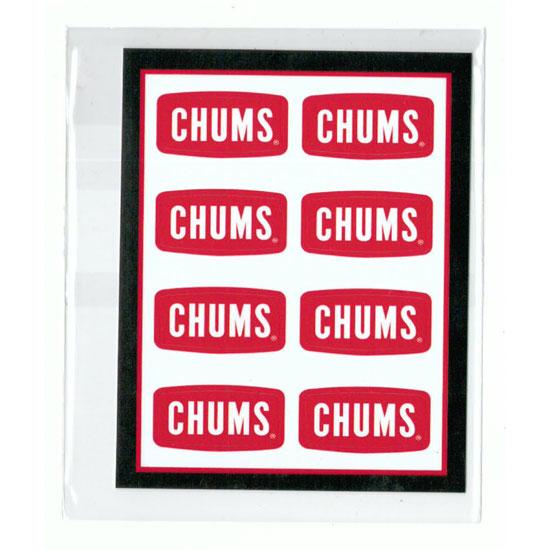 チャムス ステッカー CH62-0089 ステッカーチャムスロゴ ミニ Sticker CHUMS Logo Mini シール ロゴステッカー