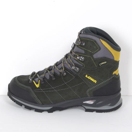 ローバー 登山靴 LOWA021(アンソラサイト/イエロー)ヴァンテージ ゴアテックス WXL メンズ VANTAGE GTX WXL トレッキングシューズ 登山靴 トレッキングブーツ