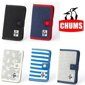 [キャッシュレス5%還元対象]チャムス ノートブックスタイルモバイルケーススウェット CH60-2361 スマホケース Notebook Style Mobile Case Sweat 【ゆうパケットOK】