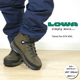 [キャッシュレス5%還元対象]ローバー タホープロGTX WXL LOWA019 メンズ/男性用 登山靴 Tahoe Pro GTX WXL L010612 4564セピア/ネイビー スタッフ写真付