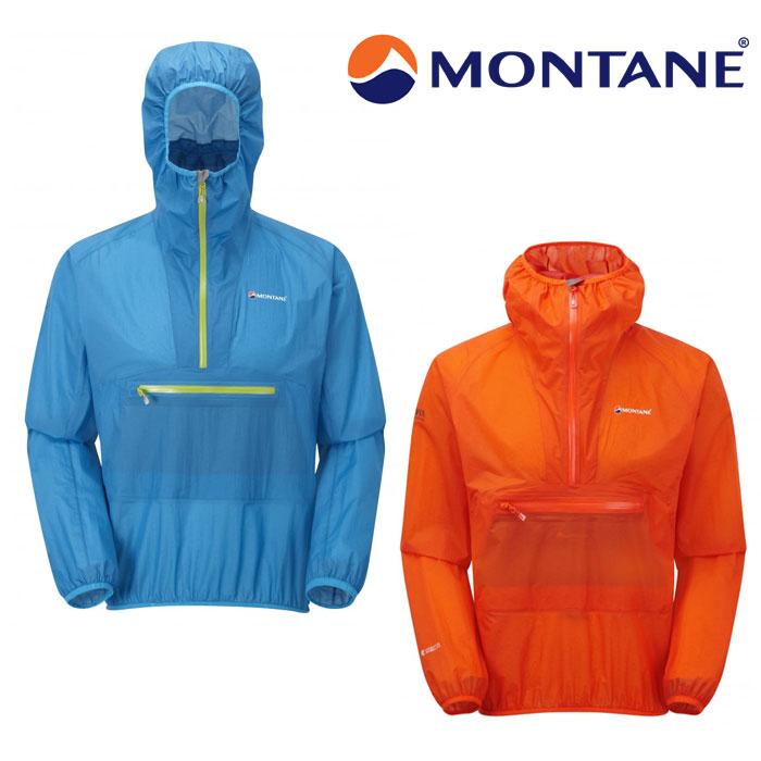 モンテイン ジャケット メンズ/男性用 GMMISMG ミニマススモック MINIMUS SMOCK 軽量シェル トレイルランニング ハイキング