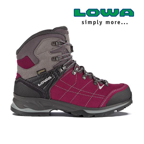 ローバー 登山靴 lowaL020699(ベリー×グレー)バンテージ GT WXL ウィメンズ レディース VANTAGE GTX WXL トレッキングシューズ 登山靴 トレッキングブーツ L020699