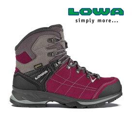 [キャッシュレス5%還元対象]ローバー バンテージGT WXLウィメンズ lowaL020699 レディース/女性用 登山靴 VANTAGE GTX WXL 0351ベリー×グレー