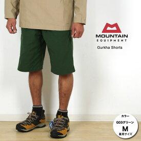 [キャッシュレス5%還元対象]マウンテンイクイップメント グルカショーツ ME425414 メンズ/男性用 Gurkha Shorts スタッフ写真付