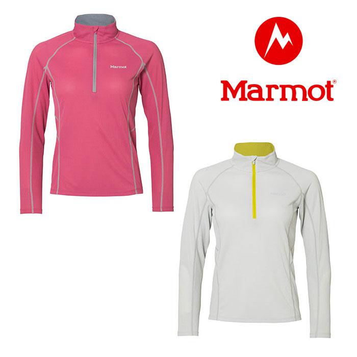 マーモット ウイメンズクライムスピードエアーロングスリーブジップ TOWLJB72 レディース/女性用 Tシャツ W'S CLIMB SPEED AIR L/S ZIP
