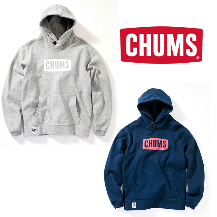 チャムス チャムスロゴプルオーバーパーカー CH00-1114 メンズ/男性用 CHUMS Logo Pull Over Parka 2019年春夏