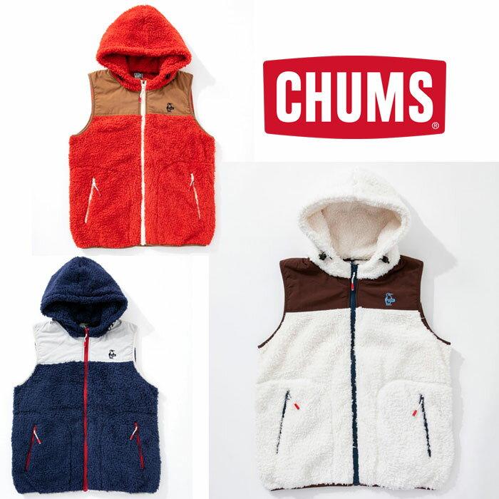 チャムス フリースエルモベスト CH04-1124 メンズ/男性用 フリース Fleece Elmo Vest ※半期に一度のクリアランス