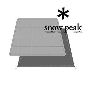 [キャッシュレス5%還元対象]スノーピーク エルフィールド マットシートセット TP-880-1 マット MAT SHEET SET for ELFIELD 2019年新商品