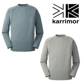 [キャッシュレス5%還元対象]カリマー フィールドセンサーロングスリーブ KRM2338 メンズ/男性用 Tシャツ fieldsensor L/S ※クリアランスSALE