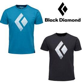 ブラックダイヤモンド メンズ S/S チョークアップティー BD67544 メンズ/男性用 Tシャツ 2019年春夏新作 ロストアロー正規取扱店
