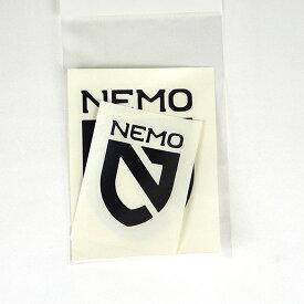 [最大4000円OFFクーポン配布中!6/26土1:59まで]ニーモイクイップメント NEMO シールドステッカーセット BK NM-AC-ST6 転写ステッカー ブラック