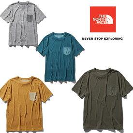 [キャッシュレス5%還元対象]ノースフェイス ショートスリーブカラーパネルティー NT31936 メンズ/男性用 Tシャツ S/S Color Panel Tee ※クリアランスSALE