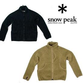 [キャッシュレス5%還元対象]スノーピーク クラシックフリースジャケット SW-19AU004 メンズ/男性用 フリース Classic Fleece Jacket 2019年秋冬新作