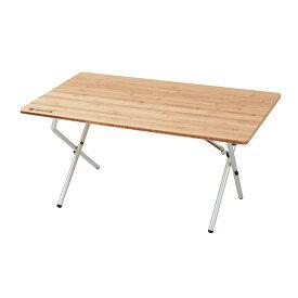 [最大2000円OFFクーポン配布中!6/11木1:59まで]スノーピーク ワンアクションローテーブル竹 LV-100TR Single Action Low Table Bamboo