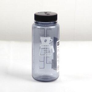 [エントリーでP5倍&割引クーポン5/16日1:59まで]ナルゲン 容器 NGW91283 コーヒービーンズ キャニスター150g (0.5L) グレーブラック 保存ボトル キャニスター コーヒー豆 食材容器