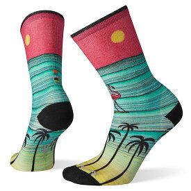 スマートウール ウィメンズ キュレイティッドサーフィンフラミンゴクルー SW71538 レディース/女性用 靴下 ロストアロー