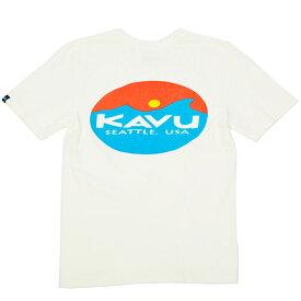 [最大4000円OFFクーポン配布中!6/26土1:59まで]カブー サーフロゴT KAVU19820423 メンズ/男性用 Tシャツ