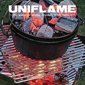 ユニフレーム ファイアグリル 683118 ヘビーロストル(ファイアグリル用) ダッチオーブン 大鍋料理 架台 無垢棒