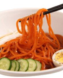 【男の冷麺_4食セット(本格なま麺)】粉夢の盛岡冷麺、韓国冷麺好きの方にもオススメ。東北、ご当地グルメ、冷麺、お取り寄せ。