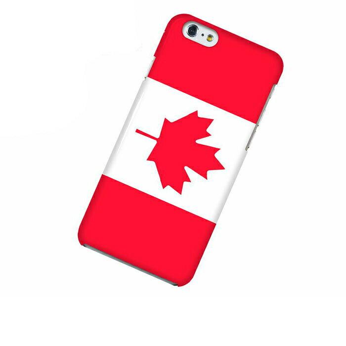 iPhone 6 アイフォン シックス ケース 国旗 カナダ スマホケース スマホカバー ハードケース ハードカバー case 携帯 カバー 携帯ケース IP6-12FG255