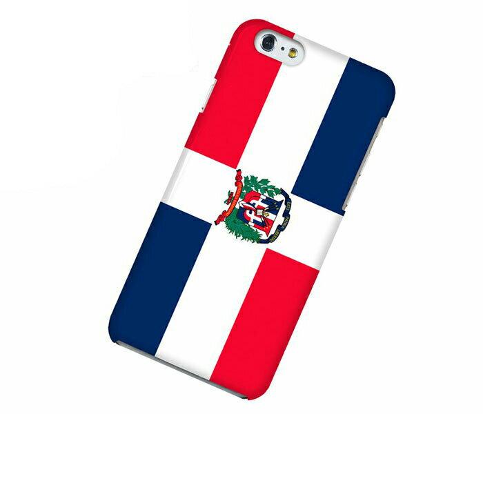 iPhone 6 アイフォン シックス ケース 国旗 ドミニカ共和国 スマホケース スマホカバー ハードケース ハードカバー case 携帯 カバー 携帯ケース IP6-12FG322