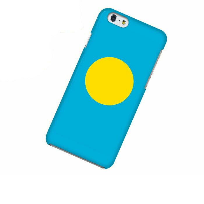 iPhone 6 アイフォン シックス ケース 国旗 パラオ スマホケース スマホカバー ハードケース ハードカバー case 携帯 カバー 携帯ケース IP6-12FG342
