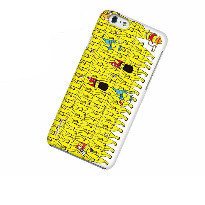 iPhone 6 アイフォン シックス ケース iPhone 6 アイフォン シックス カバー エリートバナナ バナ夫 スマホケース スマホカバー ハードケース ハードカバー case 携帯 カバー 携帯ケース IP6-12BA017