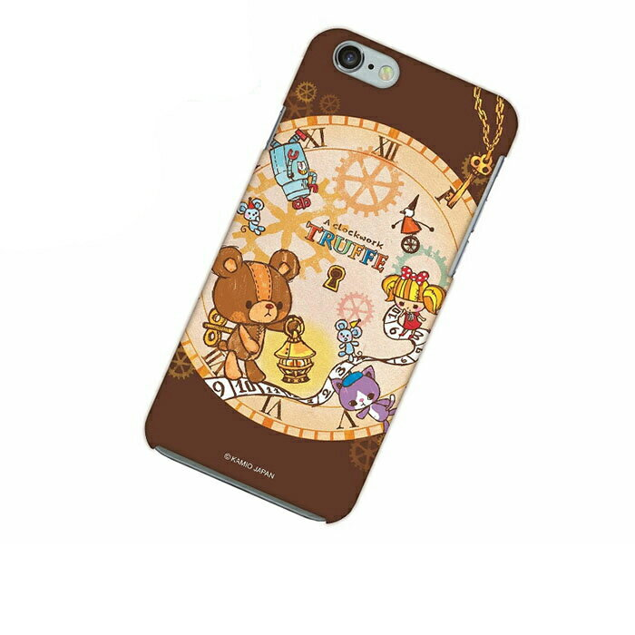 iPhone 6 アイフォン シックス ケース iPhone 6 アイフォン シックス カバー ぜんまいじかけのトリュフ スマホケース スマホカバー ハードケース ハードカバー case 携帯 カバー 携帯ケース IP6-12TR018